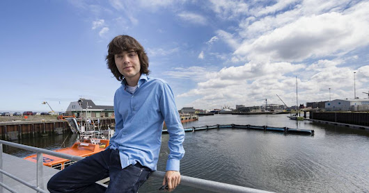 A young Dutch inventor wants to clean plastic from the ocean. Can he do it?