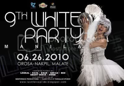 White Party Manila 2010 - Girl