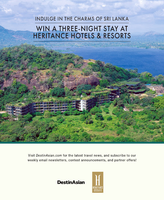 Indulge in the Charms of Sri Lanka: Win a Three-Night Stay at Heritance Hotels & Resorts