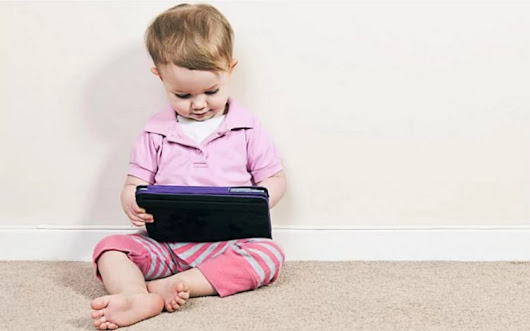 Tablets and smartphones damage toddlers' speech development
