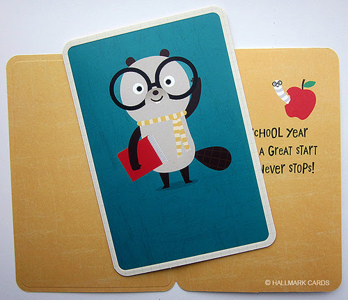 Hallmark kids back-to-school card