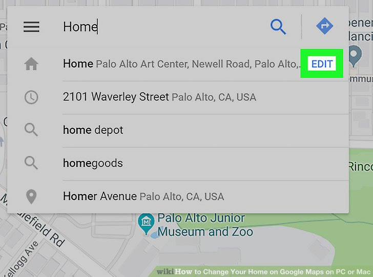 How To Change Your Home On Google Maps On Pc Or Mac 7 Steps