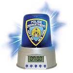 NYPD Police Alarm Clock