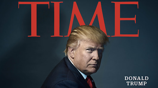 TIME Person of the Year for 2016 is President-elect Donald Trump