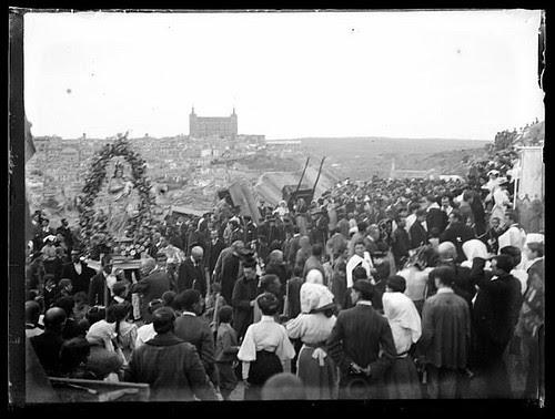 Romería del Valle (Toledo) hacia 1910. Colección de D. Santiago Relanzón Almazán,  Ayuntamiento de Toledo