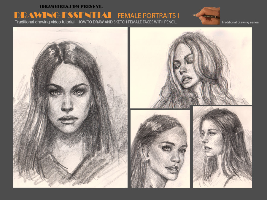 How to draw faces or portraits