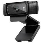 C920 HD Pro Webcam, 1920 pixels x 1080 pixels, 2 Mpixels, Black