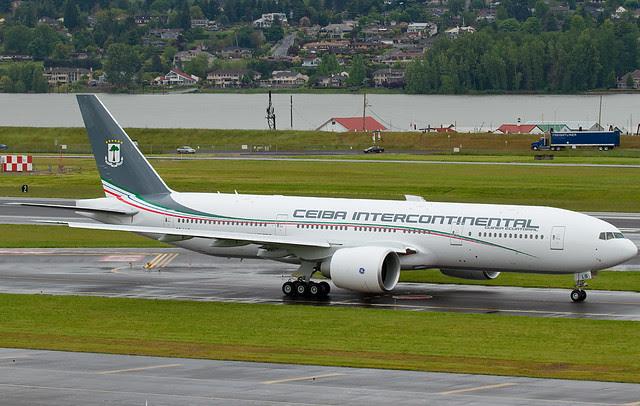 CEIBA Intercontinental Boeing 777