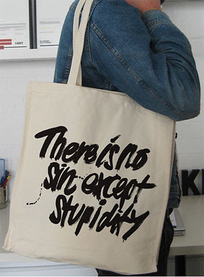Switched On Set There Is No Sin Except Stupidity Tote Bag By Ulla