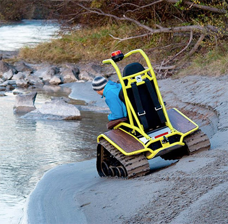 Off Road Wheelchair Redefines The Wheelchair Experience