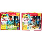 Educational Insights Hot Dots Jr. Let's Master Pre-K Reading Set, Ages 3+ & Hot Dots Jr. Let?s Master Kindergarten Math Set, Homeschool & School