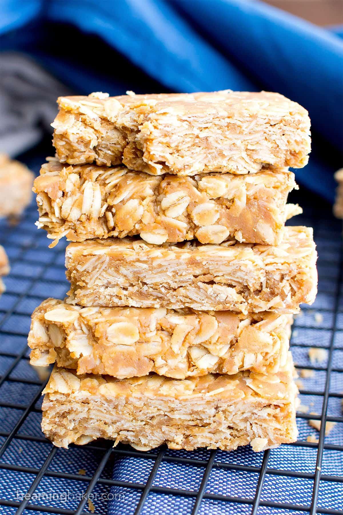 3 Ingredient No Bake Gluten Free Peanut Butter Granola ...