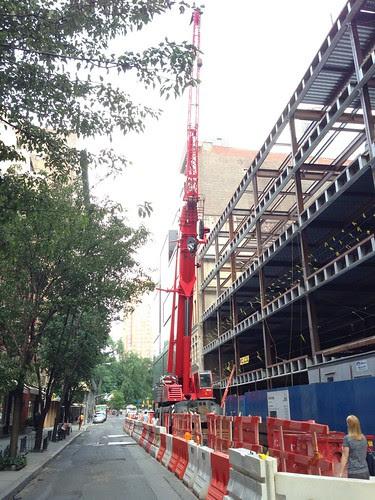 Ubiquitous West Village crane