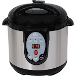 Chard - 9.5qt Digital Pressure Cooker and Canner - Stainless Steel/Black