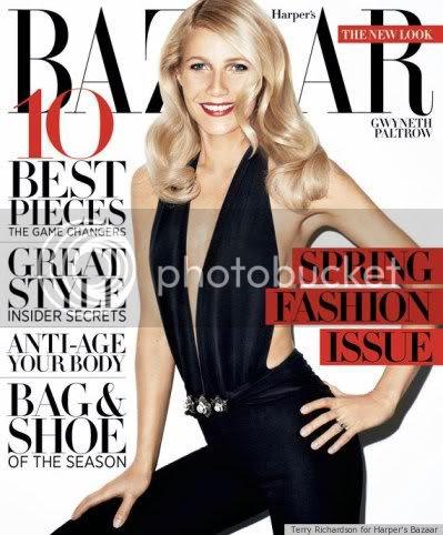 Gwyneth Paltrow Harpers Bazaar Cover