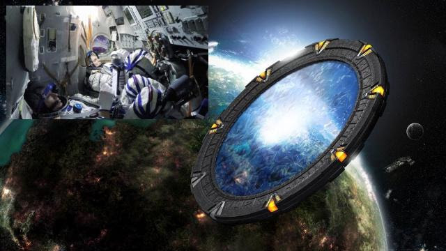 Russian Travel From Earth To Saturn Through Dimensional Portals