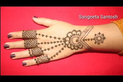 Mehndi Design 2019 Simple And Easy Front Hand