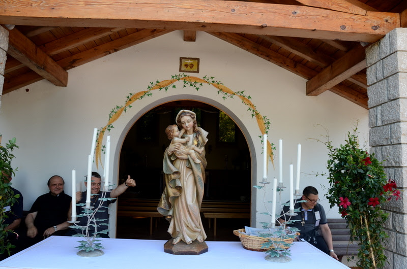 Marija's statue of Our Lady