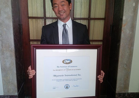 Presidential Honor Awarded to Miyamoto International -