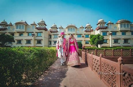 Taj Jai Mahal Palace Lights Up for this NRI Wedding in