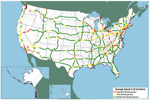 Us Map Highway 80