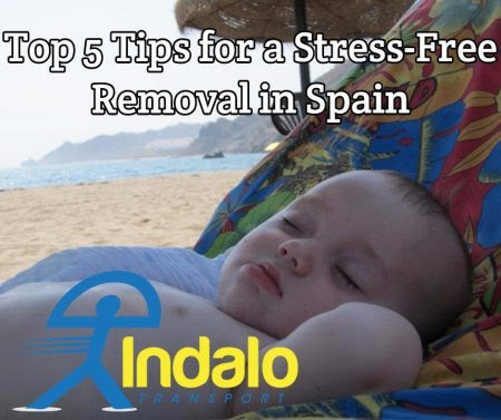 Top 5 Tips for a Stress-Free Removal in Spain  | Indalo Transport