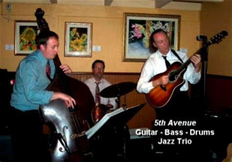 Jazz Trio (Guitar Bass Drums)   Fifth Avenue Entertainment