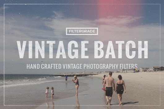 FilterGrade Vintage Photoshop Actions for Members
