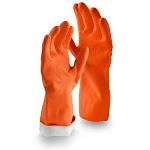 Libman Premium Reusable Latex Gloves, Medium, 12 Pairs (LIB-01324)