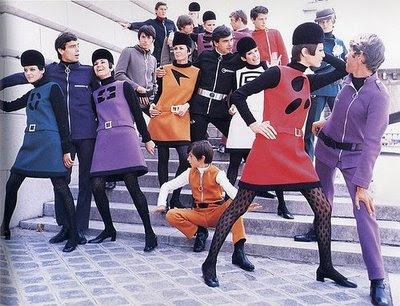 Moda Espacial Pierre Cardin