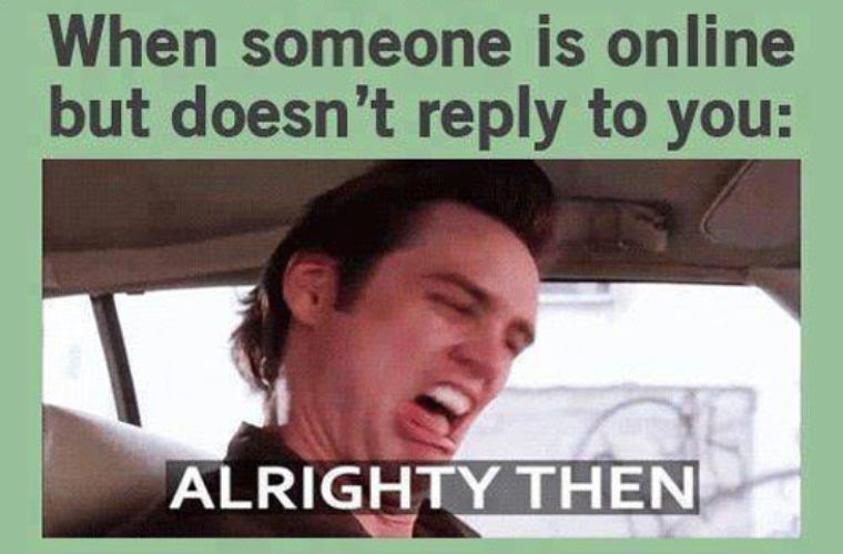 Someone Ignores You Online Funny Pictures Quotes Memes Funny