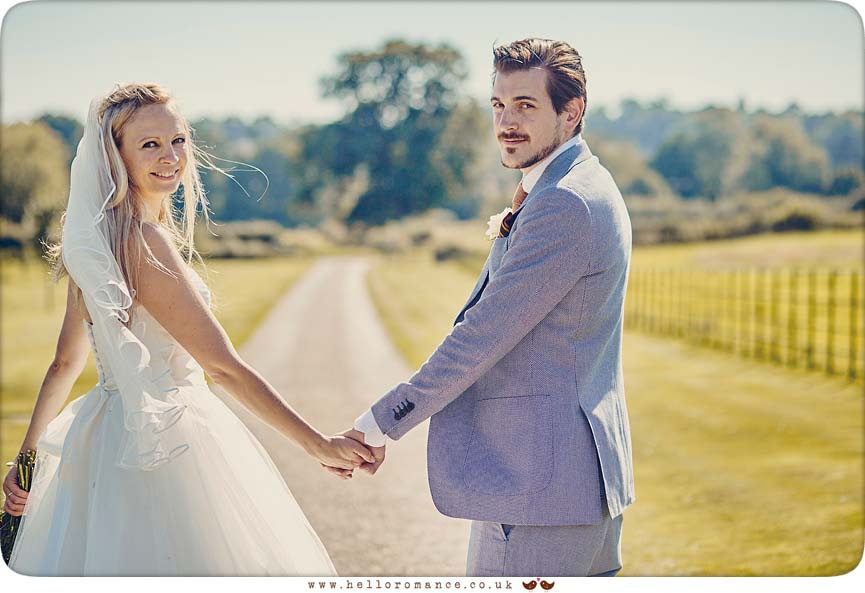 Stunning photo at Bruisyard Hall - www.helloromance.co.uk