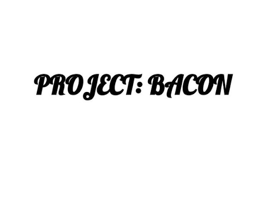 PROJECT: BACON - a cookbook with a twist on all things bacon