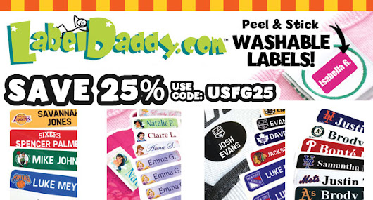 COUPON - 25% OFF @ Label Daddy - Misadventures of a First Time Mom