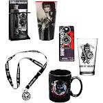 Sons of Anarchy Bundle: Lanyard, Flask, Mug, Bottle Opener, Pint Glasses