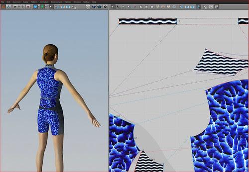 Obra de Darío Urzay con el programa CLO 3D: triatleta back2