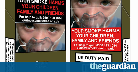 Standardised cigarette packaging is on its way, will it reduce smoking? | Science | The Guardian