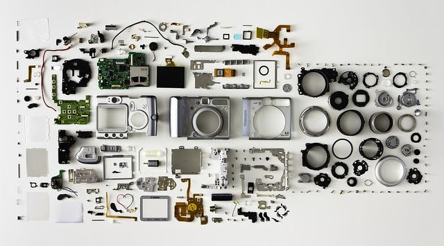 Inside of Camera Electronics