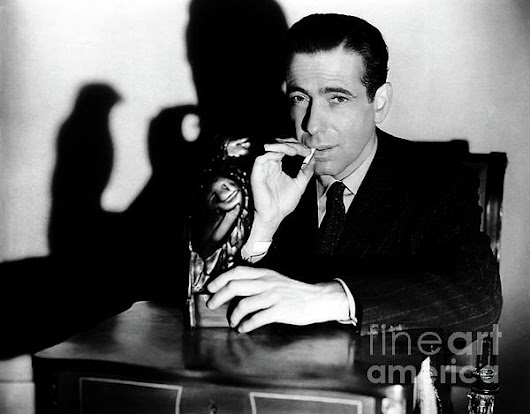 Humphrey Bogart - Maltese Falcon by Sad Hill - Bizarre Los Angeles Archive