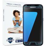 Galaxy S7 Glass Screen Protector, Tech Armor Premium Ballistic Glass Samsung