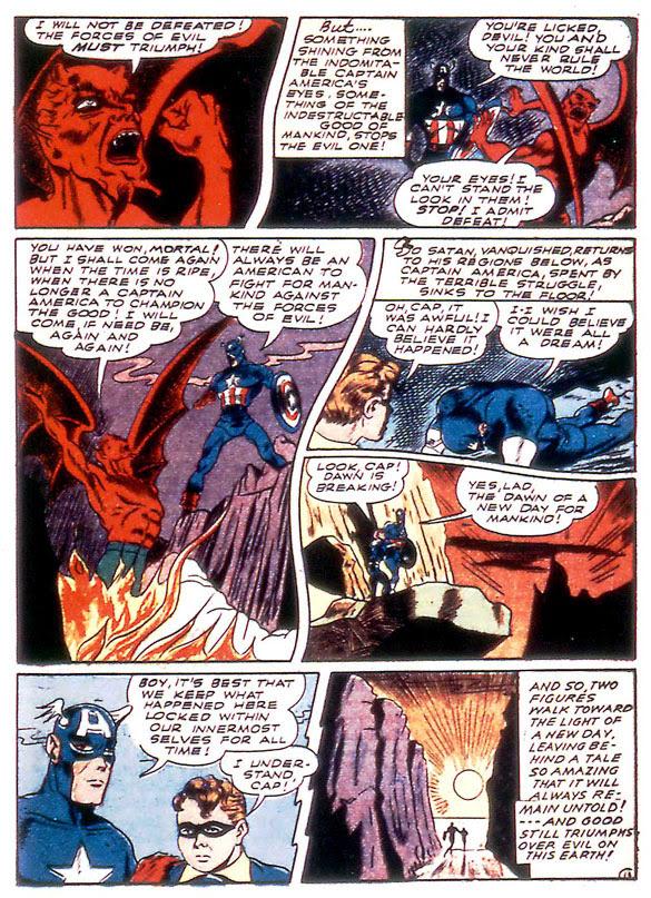 Captain America Comics #21