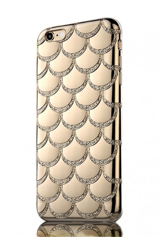 Mermaid Bling Fish Scale iPhone 6 Case in Gold  | Sincerely Sweet Boutique