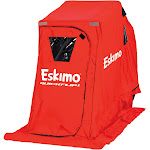 Eskimo QuickFlip 1 Ice Fishing 1-Person Shelter