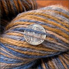 Copperhead 2 yarn, close-up