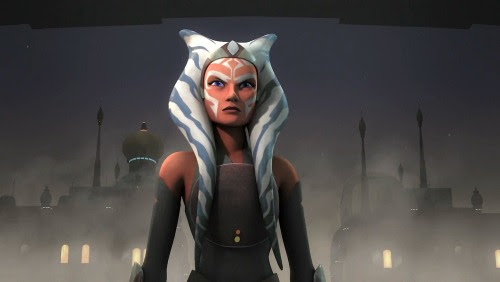 Ahsoka in Star Wars Rebels
