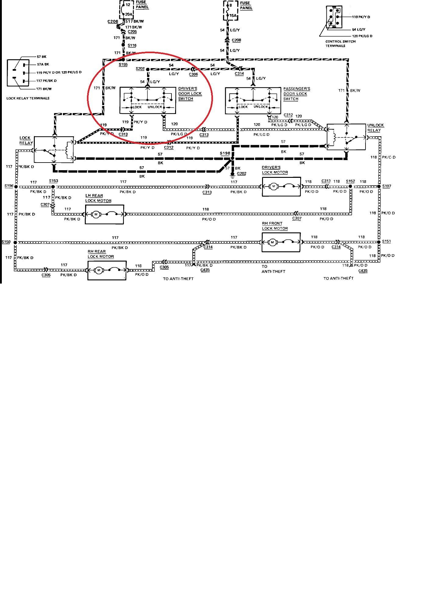 99 Lincoln Continental Fuse Box Diagram - Wiring Diagram ...