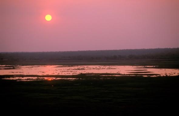 Sunset over Kakadu