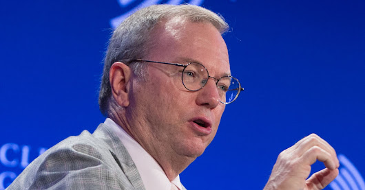 Alphabet's Eric Schmidt: Why Google can have trouble ranking 'truth'
