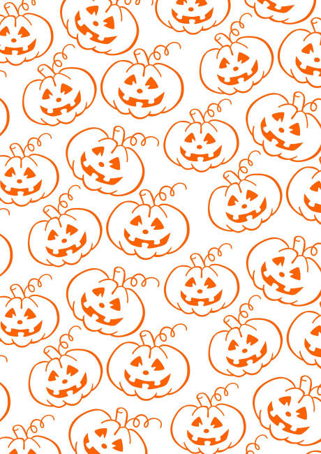 Halloween scrapbook paper pumpkin patch