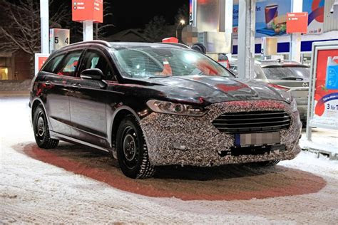 ford mondeo wagon release date facelift interior